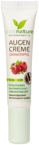Cosnature Augencreme Granatapfel 15 ml, 3er Pack (3 x 15 ml)
