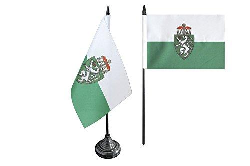 Flaggenfritze Tischflagge/Tischfahne Österreich Steiermark + gratis Aufkleber