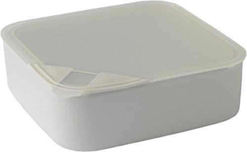 Arzberg Form 3330 Küchenfreunde Frischebox mit Kunsstoffdeckel 18 x 18cm, transparent