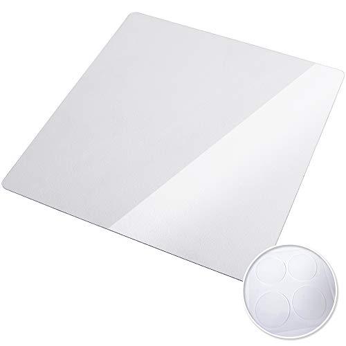 [Hirano] 冷蔵庫 マット フローリング 床 傷防止 高硬度ポリカーボネート 透明[ゼロキーパー] 200Lクラス Sサイズ (2×530×620mm)