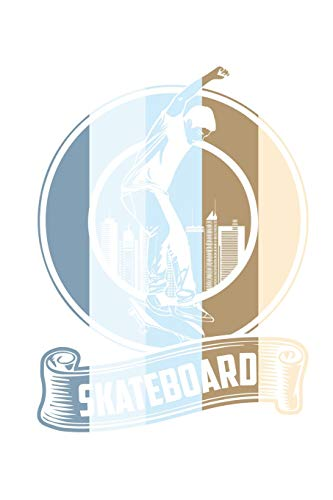 Skateboard Vintage: College Ruled Skateboard Vintage / Journal Gift - Large ( 6 x 9 inches ) - 120 Pages || Softcover