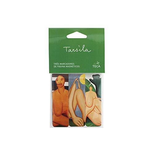 Marcador De Página - Tarsila Do Amaral - Sortidos, Teca, Gm0024, Colorido, Pacote De 3