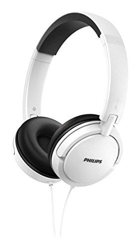 Philips SHL5000WT/00 On-Ear-Kopfhörer (zusammenfaltbar, bequemer Sitz, Geräuschisolierung) Weiß