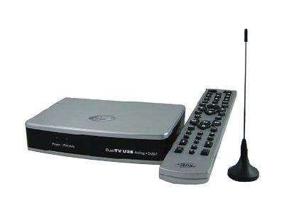 ADS Dual USB Analog TV DVB-T Tuner (Analog-TV/DVB-T Fensterklemmantenne