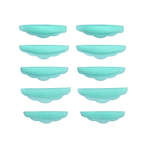 まつげパーマパッド 10枚入り 5サイズ対応 まつ毛エクステンション まつげパーマのパッド パーマカーラーパッド/シールド