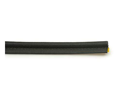 Junta para chimenea, 3 m, diámetro 18 x 6 mm, cinta de sellado autoadhesiva, apta para diferentes modelos de chimenea…