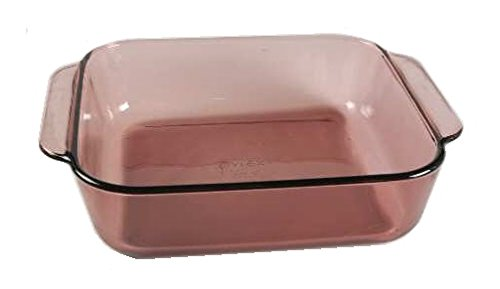 Corning Ware / Pyrex Originals Cranberry Square Baker ( 8' x 8' / 2 Quart ) ( 222-R )