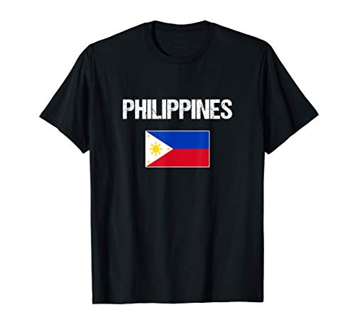Philippinischer Stolz Geschenk   Philippinen Flagge T-Shirt