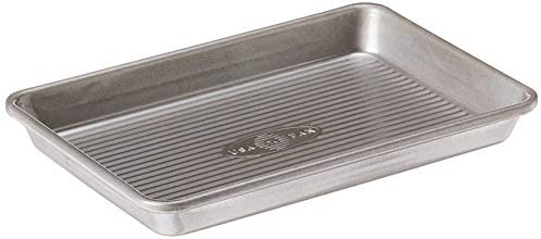 USA Pan Bakeware Nonstick Jelly Roll Pan and Silicone Mat Set, 1 EA