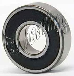 638-2RS Rubber Sealed Metric Minature Ball Bearing 8x28x9 638RS Inner Diameter ID 8mm x OD 28mm x Width of 9mm