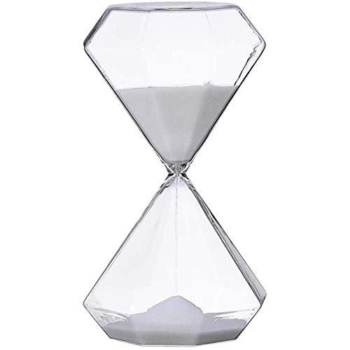 Sabliers Horloge de Sable, Sablier pour Enfants 5/15/30 Minutes Sablier de sécurité pour Enfants en Forme de Diamant, Assistant de Gestion du Temps, Cadeau créatif, Décoration de Bureau de s