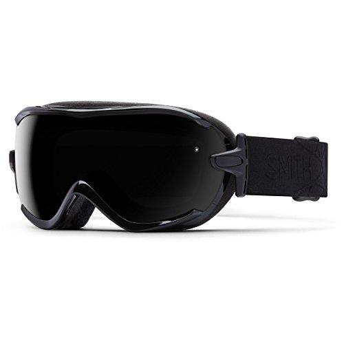 Smith Optics Virtue Women's Spherical Series Ski Snowmobile Goggles Eyewear - Black Lux/Blackout/Small