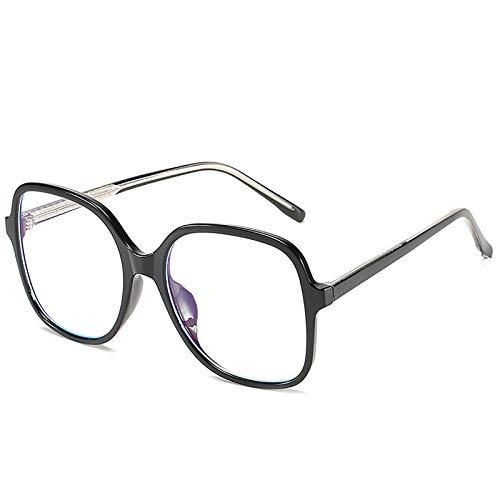Bias&Belief Gafas de Bloqueo de luz Azul Gafas para Juegos de computadora TR Montura Cuadrada Redonda Montura de anteojos Gafas Anti-Fatiga Ocular para Mujeres y Hombres,C