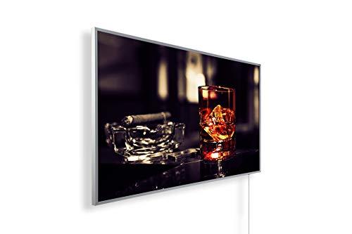 IH Engineering BV Bild Infrarotheizung mit 5 Jahren Garantie (600, Whiskey, Zigarre) - inkl. Thermostat