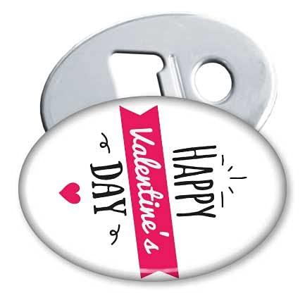 My Custom Style Magnete apribottiglie 45x69mm #SanValentino-HappyDay2#