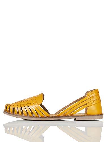 find. Darling 1w3 Geschlossene Sandalen, Gelb (Yellow), 41 EU