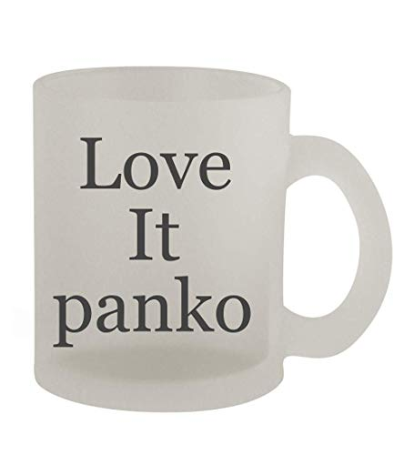 Love It panko - 10oz Frosted Coffee Mug Cup, Frosted