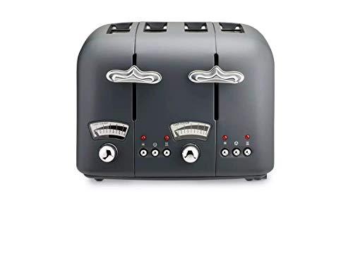 De'Longhi CT04.GY Argento Mood 4 Slice Toaster - Grey