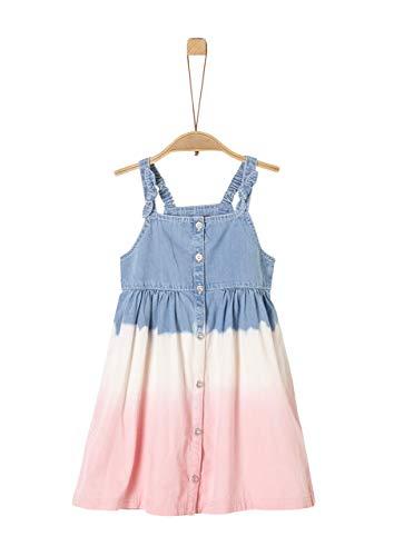 s.Oliver Mädchen Jeans Kleid mit Farbverlauf Wascheffekt in Größe 140