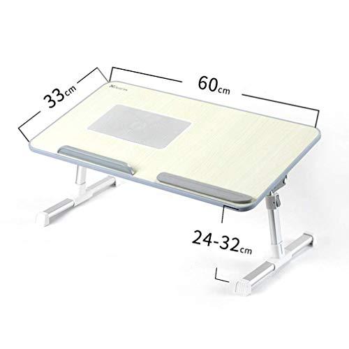 WTT Opklapbare tafel Verhooging/Down Bed Computerbureau/Slaapzaal Tafel/Multifunctionele notebookbeugel Slaapkamer Studeerbureau met radiator, L