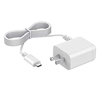 for Motorola Baby Monitor Charger Power Cord Replacement Adapter Supply Compatible with Parent Unit MBP33S MBP36S MBP36XL MBP38S MBP41S MBP43S MBP843 MBP853 MBP854 MBP855 ONLY Micro USB Plug DC 5.0