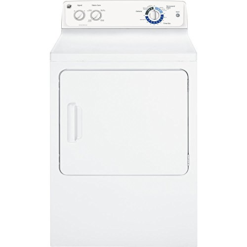 GE GTDP220EFWW 7.0 Cu. Ft. White Electric Dryer