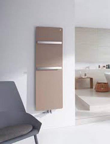 Zehnder vitalo Design radiatore VIP-160-050, 1570x500 mm, Design Bar, con Attacco Centrale, radiatori da Bagno: Bianco RAL 9016 - ZV101650B100000