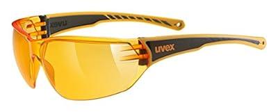 uvex Unisex– Erwachsene, sportstyle 204 Sportbrille, orange/orange, Einheitsgröße