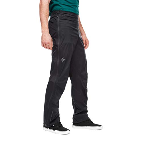 Black Diamond M Stormline STR FL Zp RN Pants Pantalon pour Homme S Noir