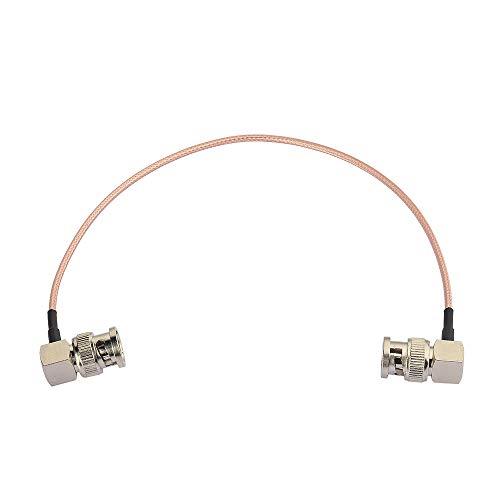 Eightwood SDI Kabel BNC Kabel Stecker auf Stecker BNC Rechter Winkel 30cm RG179 Koaxial für BMCC Blackmagic BMPCC HD Videokamera Flexible MEHRWEG
