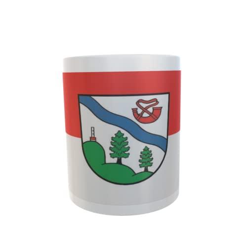 U24 Tasse Kaffeebecher Mug Cup Flagge Gröden