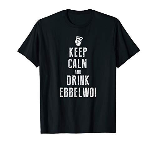 Ebbelwoi Hessen Apfelwein Frankfurt T-Shirt Design