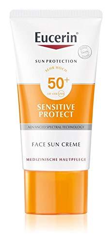 Eucerin Sensitive Protect Crema solare per il viso SPF 50+ da 50 ml