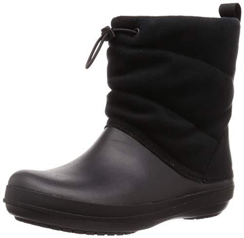 Crocs Crocband Puff Boot Women Noir Croslite