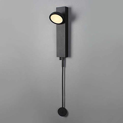 -aplique pared Luz de pared LED de 5W, apliques de pared táctiles regulables modernos, 85-265V, lámpara de cabecera de lectura de decoración, lámparas de pared interiores for dormitorio de sala de est