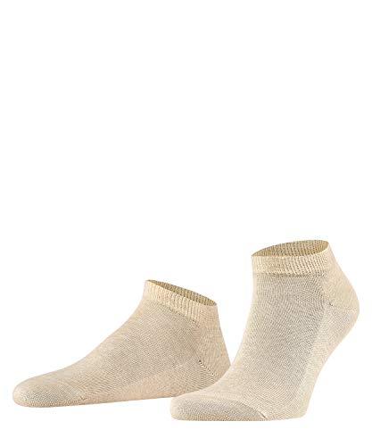 FALKE Herren Sneakersocken Family - 94% Baumwolle, 1 Paar, Beige (Sand Melange 4650), Größe: 43-46