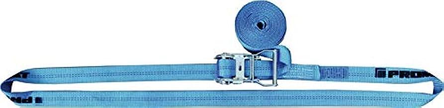 Sjorband DIN EN 12195-2 L.4m B.35mm met ratel LC U 2000 daN PROMAT