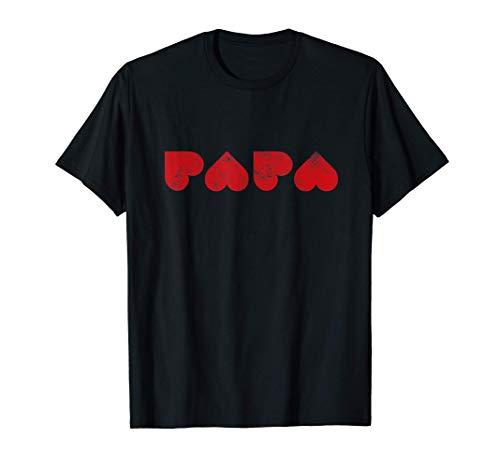 PAPA du coeur   idée cadeau pour Papa Superdad T-Shirt