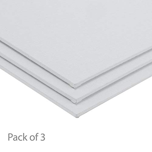 Centurion All-Media Primed Linen Panels 3-Pack 14x18""
