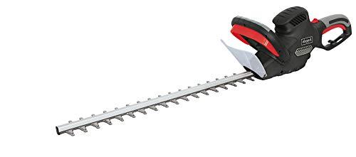 scheppach Elektro Heckenschere HT600 600W - Schnittlänge: 600mm | Schnitt- Ø: 24mm | drehbarer Handgriff | Schnellstop-Bremsfunktion | leicht und handlich