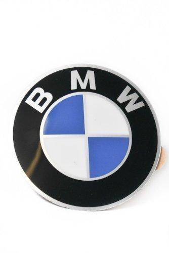 BMW original BMW con adesivo a placche in alluminio diametro 58 mm