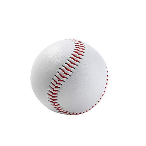 Lorsoul Sport-weicher Gummi Baseball 9 Zoll Kids Teenager Spieler Harter Trainingsball Übung Baseball-Ball