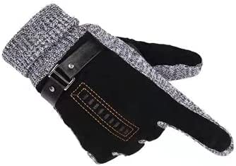 Winter Gloves, Cashmere Insulated Gloves, Windproof, Cold Proof, Warm and Hot Gloves.