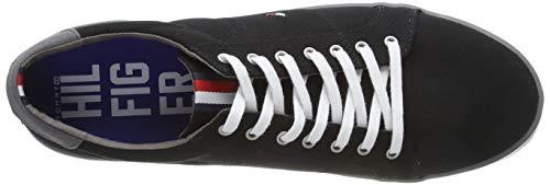 Tommy Hilfiger Herren Sneakers, Schwarz - 4