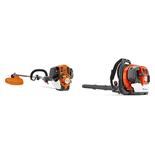 For Sale! Husqvarna 324L 17 in. String Trimmer and 360BT 65.6cc Professional Backpack Blower Combo P...