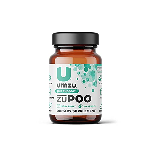 UMZU zuPoo 15-Day Supply - Relief from Temporary Bloating - Natural Gentle Laxative Properties - Can Flush Toxins - Support Weight Management - USA Made