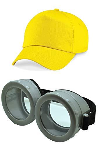 ASVP Shop - Minion Brille Ich – Einfach unverbesserlich Despicable Me Brille Gläser Augen Tolles Kostüm