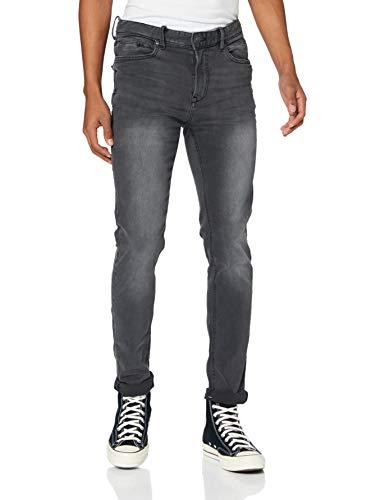 Springfield 1758551 Jeans, Negro, 26 Mens