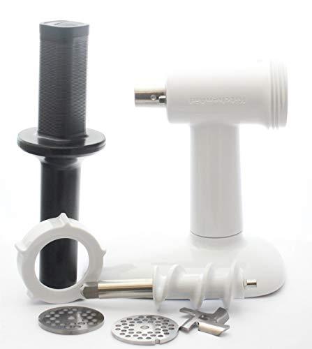 Kitchenaid KSMFGA Food Grinder Attachment for Stand Mixers, white