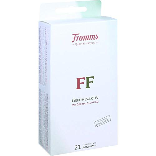 Kondome Gefühlsaktiv - 21 Stück - Standard Kondomgröße transparent